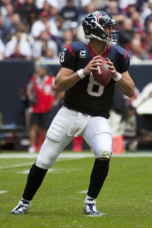 Matt Schaub - Schaub with the Texans in 2010