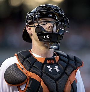 Matt Wieters - Weiters with the Baltimore Orioles in 2016