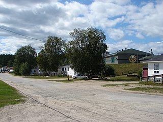 Mattagami First Nation Indian reserve in Ontario, Canada