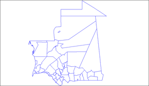 Departments of Mauritania - Departments of Mauritania
