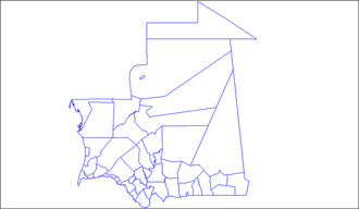 Departments of Mauritania - Departments of Mauritania