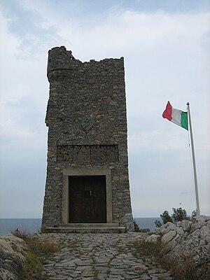 Enrico Caviglia - Mausoleum of Enrico Caviglia, Cape San Donato, Finale Ligure.