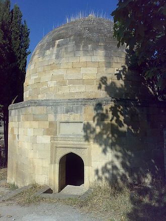Shamakhi - Mausoleum of Shakhandan, brother of famous Azeri poet Nasimi. Built in the 17th century.