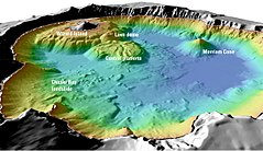 Crater Lake - Survey of the lake's depth