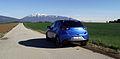 Mazda2 Typ DJ 1.5 SKYACTIV-G 115 i-ELOOP Sports-Line Cyanitblau-Metallic Heckansicht.jpg