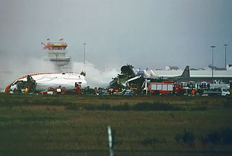 Martinair Flight 495 - The wreckage on the crash site