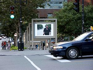 McGill College Avenue - Photo exhibit on McGill College.