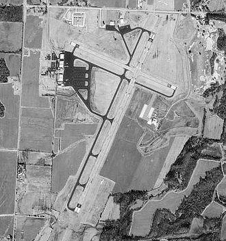 McKellar–Sipes Regional Airport - USGS 1997 orthophoto