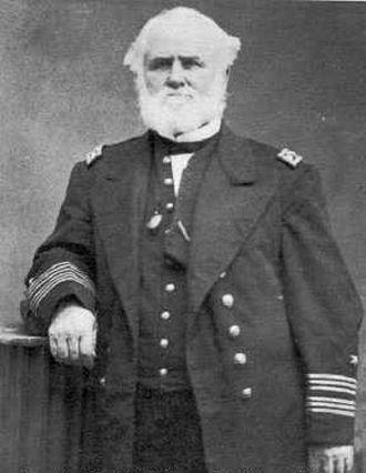 Battle of Shimonoseki Straits - David McDougal, captain of the USS Wyoming, photographed circa 1864-1871.