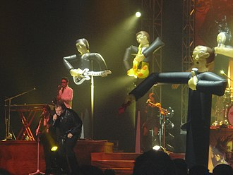 Meat Loaf - On stage at Birmingham's NEC arena, 2007