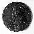 Medal showing Hieronymus Fracastorius Wellcome M0010505.jpg