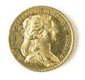 Medalj, förgyllt silver - Skoklosters slott - 109555.tif