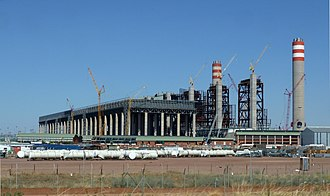 Eskom - Construction work on the Medupi (pictured) and Kusile coal-fired power stations was started in the 2007-2015 period as part of Eskom's capacity expansion program following the energy crisis.