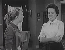 Ann baker and mary brian in the episode corliss the cheerleader