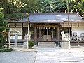 Mefu-jinja (Takarazuka) haiden.jpg