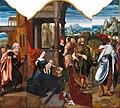 Meister der weiblichen Halbfiguren - Triptychon mit der Anbetung der Könige (Gemäldegalerie, Berlin).jpg