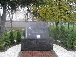 Battle of Borovo Selo - The Borovo Selo memorial as it appeared prior to 2012