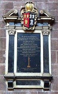 George Hall (bishop of Chester) British bishop