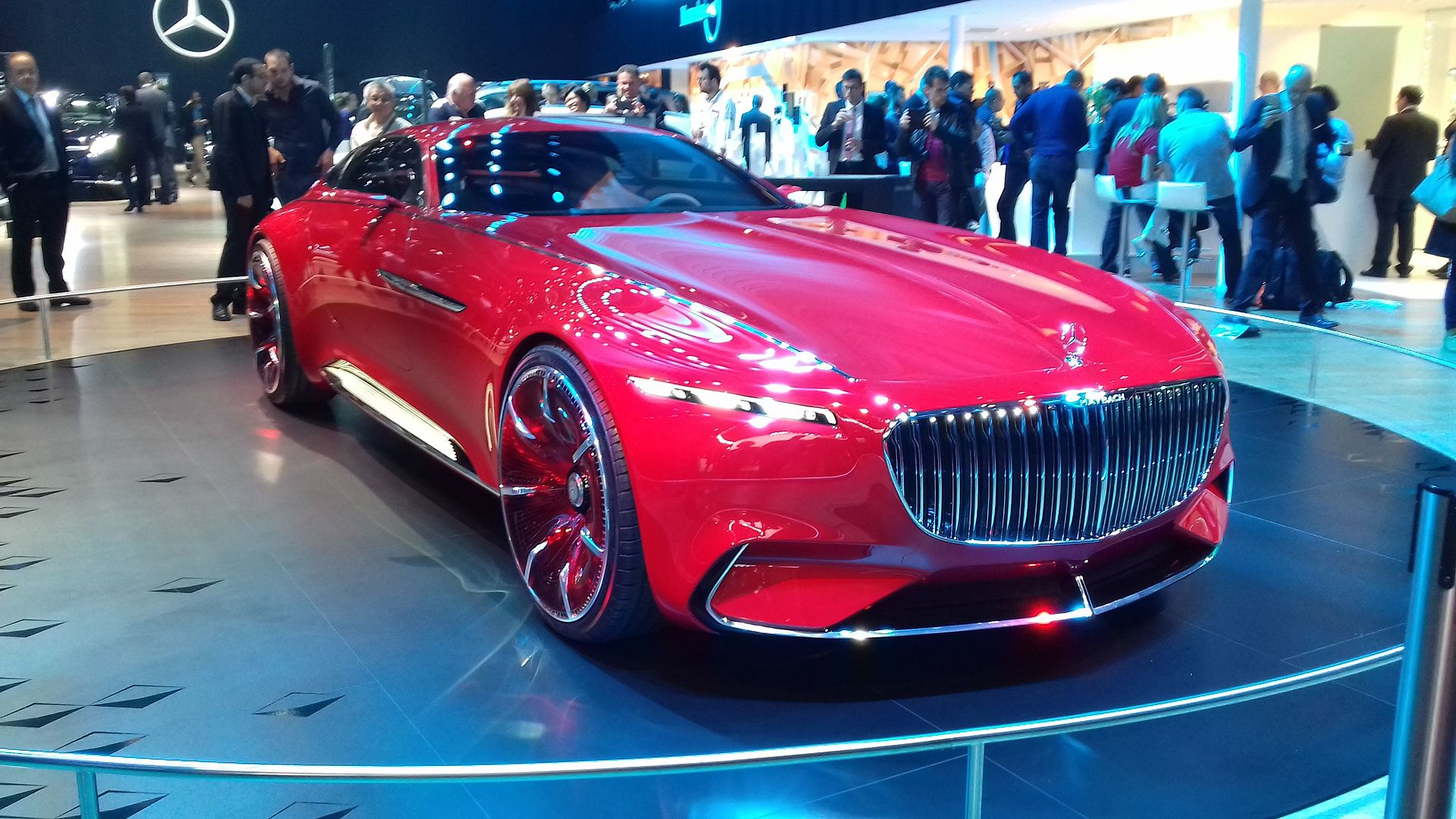 Mercedes maybach 6 wikipedia for Mercedes benz maybach 6 price