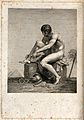 Mercury (Hermes). Engraving. Wellcome V0035816.jpg