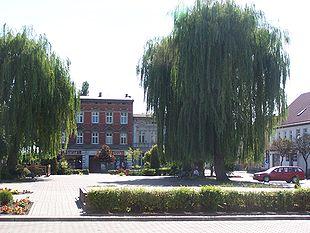 Plac Jana Paw�a II - Rynek w Solcu Kujawskim