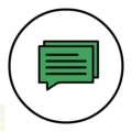 Message-icon-green-symbol-double-white-background.png