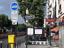 Porte de Clichy — Wikipédia