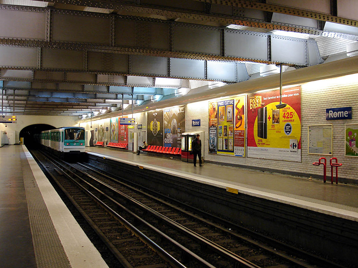 Rome (Paris Métro) - Wikipedia