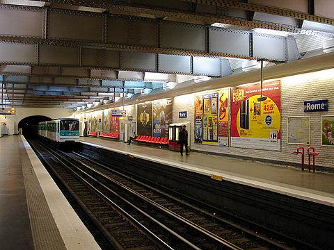 Metro de Paris Ligne Rome