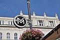 Metro sign, Vörösmarty tér, Budapest.jpg