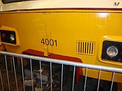 Metrocar 4001, Tyne and Wear Metro depot open day, 8 August 2010 (1).jpg