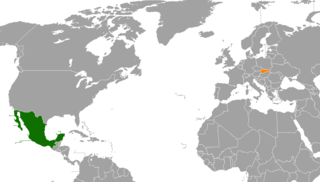 Diplomatic relations between the United Mexican States and the Slovak Republic