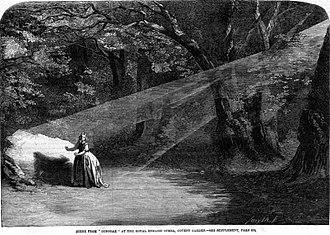 Dinorah - Act 2 Scene 1, Dinorah dances with her shadow (London, 1859)