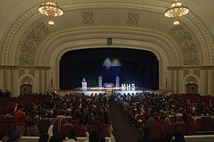 Miami High School - U.S. Secretary of Education John King Jr. speaks at Miami High School, 2016