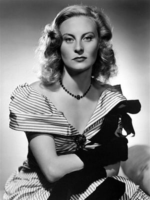 Michèle Morgan - A publicity photo for The Chase