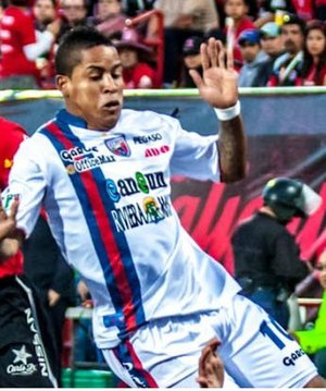 Michael Arroyo - Arroyo playing for Atlante.