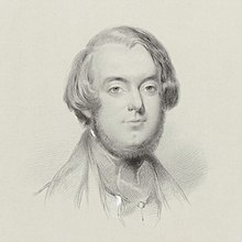 Michael William Balfe, Lithographie von Lowes Cato Dickinson, 1840 (Quelle: Wikimedia)