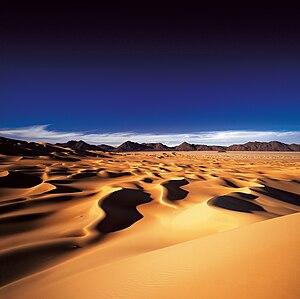 Dunes in Arakao, Sahara, Niger