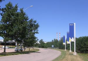 Waterville, Nova Scotia - Michelin plant in Waterville, Nova Scotia