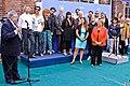 Michelle recibió apoyo de músicos chilenos 26 11 2013 (11081785754).jpg