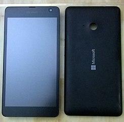 0969256de7b Microsoft Lumia 535 - Wikipedia, la enciclopedia libre