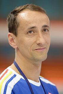 Mihai Covaliu Romanian fencer