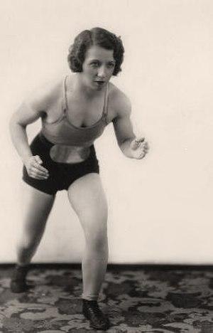 Mildred Burke - Burke in 1937