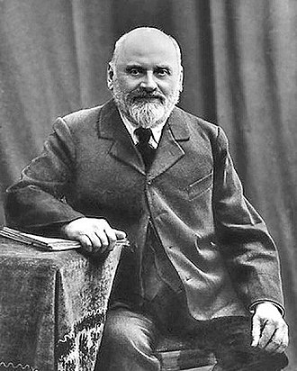 Mily Balakirev - Portrait of Balakirev c. 1900
