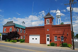 Millstadt, Illinois - Millstadt Community Center and ambulance service
