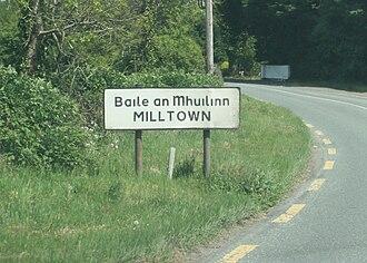 Milltown, County Kildare - Image: Milltown, Co. Kildare