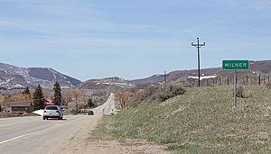 Milner, Colorado - Milner in 2014.