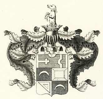 Mikhail Miloradovich - Coat of arms of Miloradovich family