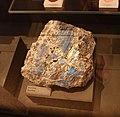 Mineral exhibit - Anorthite (32131373936).jpg