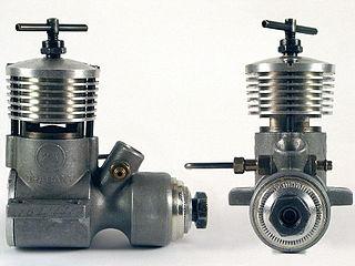 Carbureted compression ignition model engine